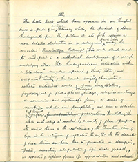 Kierkegaard letter
