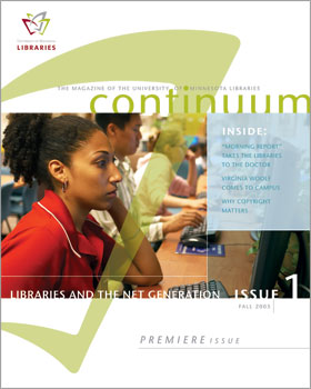 continuum issue 1