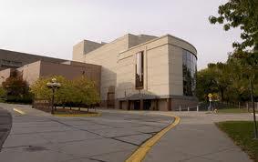 Ted Mann Concert Hall Exterior