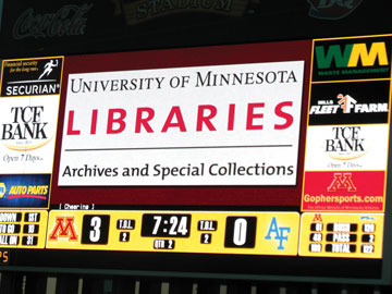 Libraries on the Scoreboard