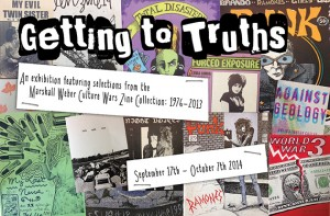 Getting to Truths exhibit postcard