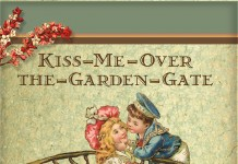 Reedy Gallery Exhibit, K Is for Kiss-Me-Over-the-Garden-Gate