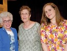 Kate Dietrick with attendees of Jewish Heritage Month event