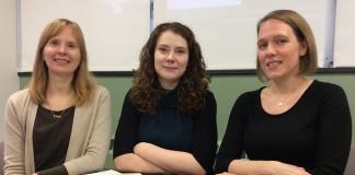 Amy Claussen, Caitlin Bakker, Nicole Theis-Mahon