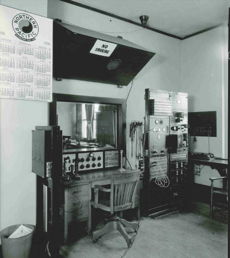 WLB Control Panel, 1938.