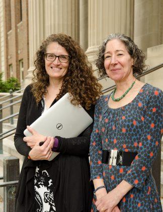 Kristi Jensen and Elizabeth Wattenberg