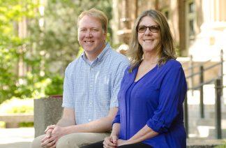 Shane Nackerud and Nora Paul
