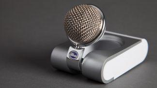 Blue Snowflake USB microphone.