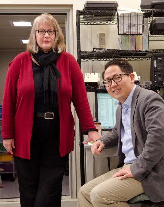 Caroline Lilyard and Hubert Lim
