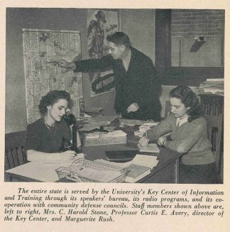 Key Center of War Information staff. The Minnesota Alumni Weekly: Special War Activities Issue, May 2, 1942. University Archives.