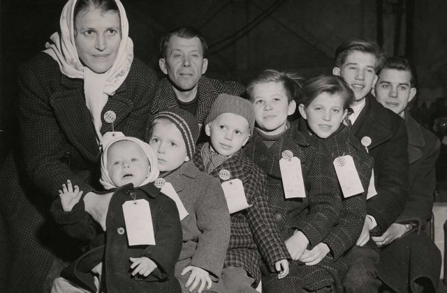 Displaced Family: United Ukrainian American Relief Committee records