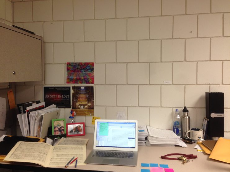 Katherine's desk