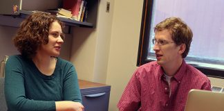 Caitlin Bakker and Charlie Plain talk about using Experts@Minnesota to track research output.