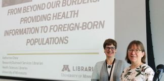 Presentation From Beyond Our Borders with librarian Katherine Chew