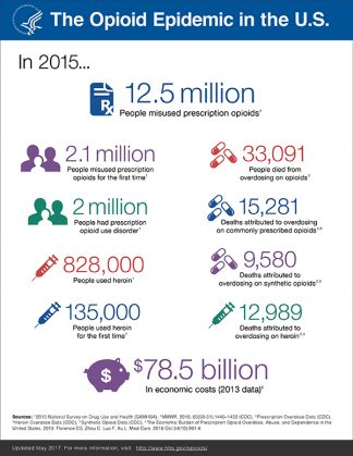 DHHS Factsheet on Opioids. Click to enlarge.
