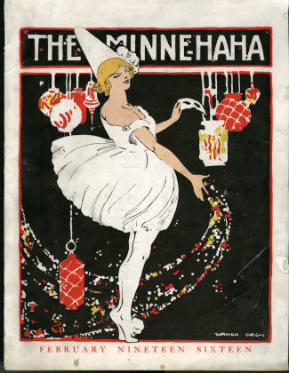 Minne-Ha-Ha, 1908-1917, humor magazine featuring campus social news and events
