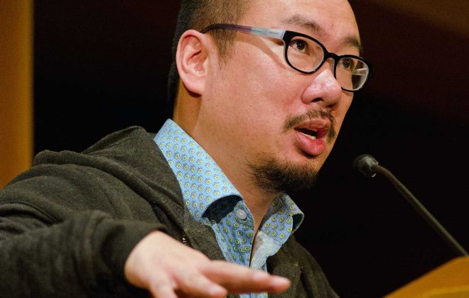 Bao Phi at the 2017 Pankake Poetry Reading