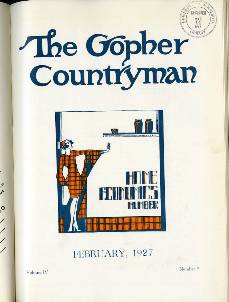 The Gopher Countryman, 1927