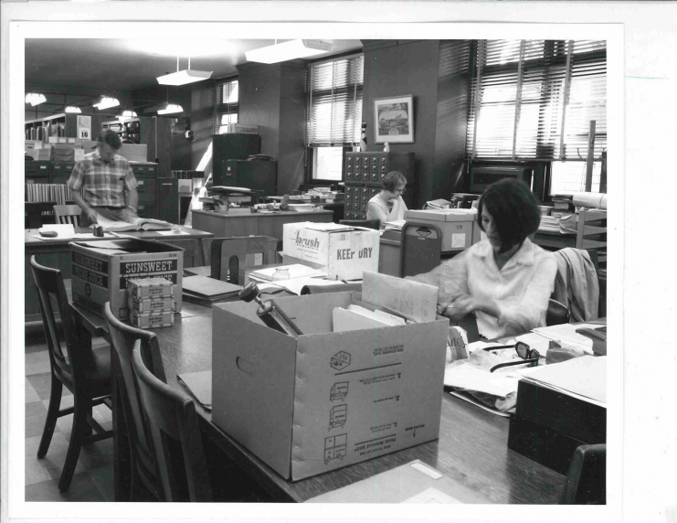 University Archives, Walter Library, 1968.