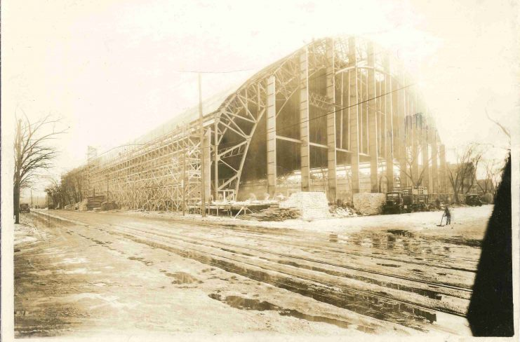 By November 25, 1927, what we now know as The Barn began to take make its place on campus.