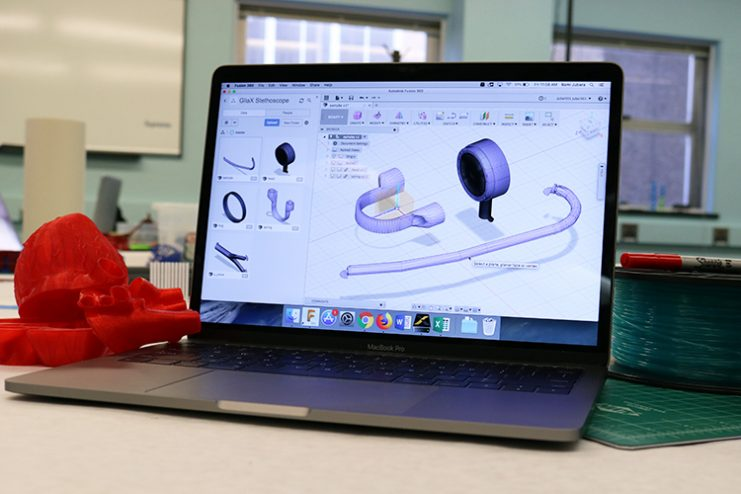 Designs for 3D Printed Stethoscope