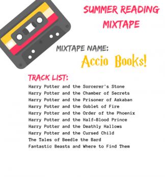 Summer Reading Mixtape Challenge poster