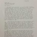 Hall Letter to Bly 5-10-1994