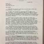 Hall letter to Bly: 4-8-85