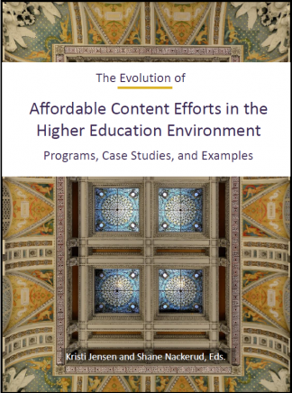 The Evolution of Affordable Content book cover