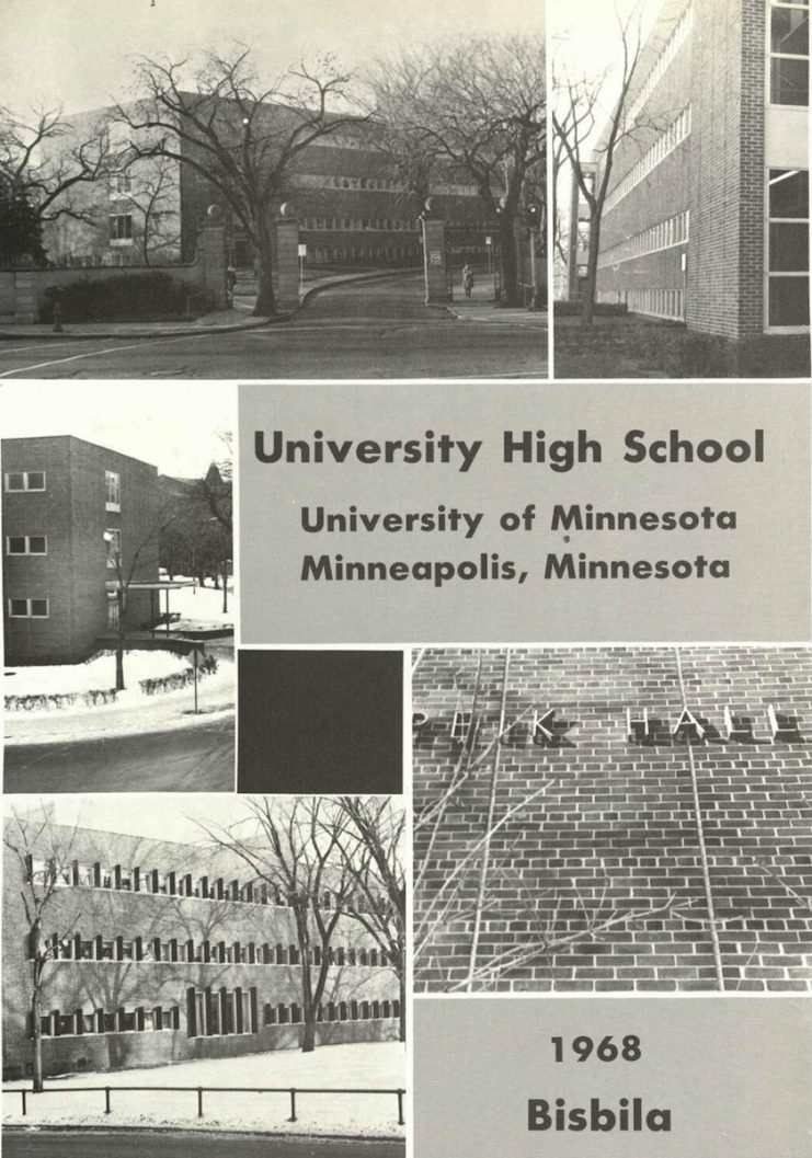 Opening inset from the 1968 Bisbila yearbook.