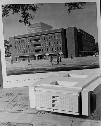 Model of Wilson Library