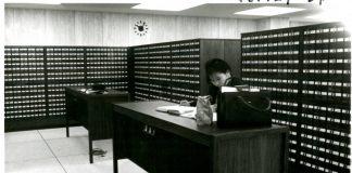 Wilson Library card catalog, 1968, http://purl.umn.edu/226242