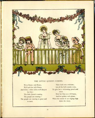 """Interior illustration from """"Marigold Garden"""""""