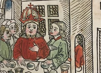 Banquet illustration from the James Ford Bell Library