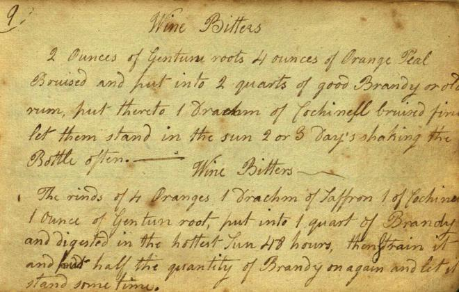 Recipe book (Wangensteen Historical Library)