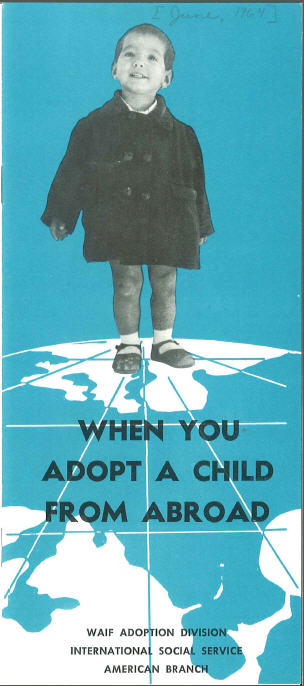 Manual titled'When You Adopt A Child'
