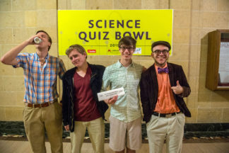 The Theorem of the Vector are your 2019 Science Quiz Bowl champions!