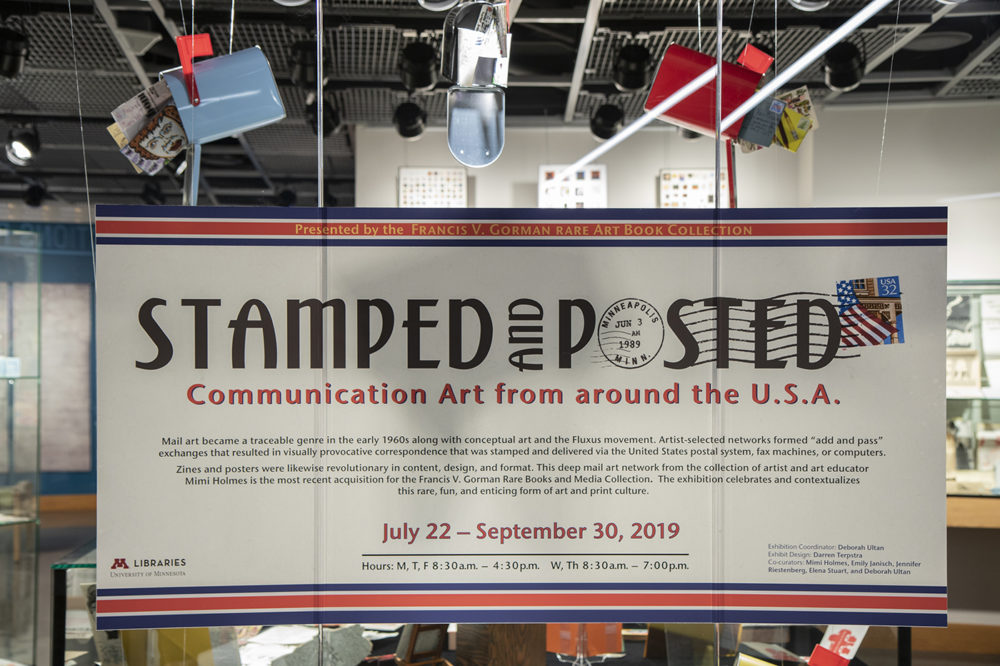 Stamped and Posted exhibit