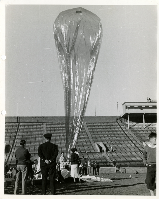 Cellophane Stratosphere Balloon Experiment by Dr. Jean Piccard, June 24, 1936, available at http://brickhouse.lib.umn.edu/items/show/344