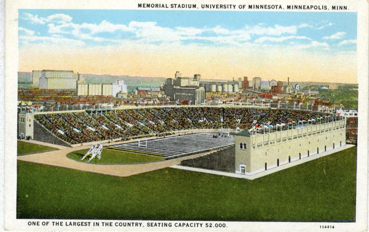 Memorial Stadium postcard, 1928, available at http://brickhouse.lib.umn.edu/items/show/163