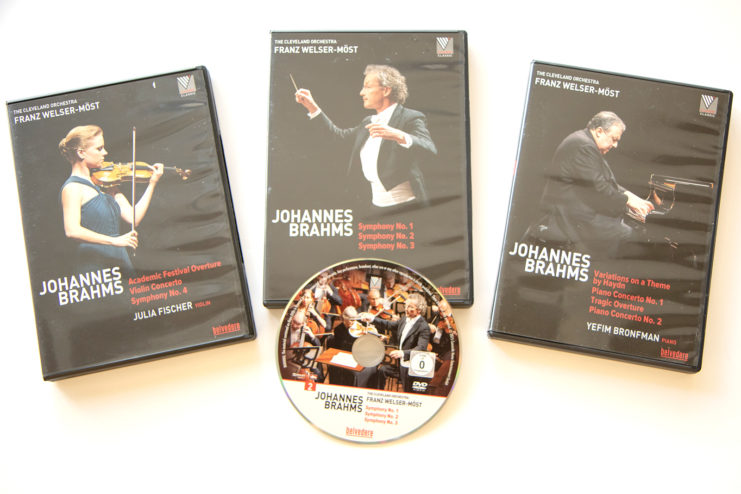 Music Library CDs, Johannes Brahms