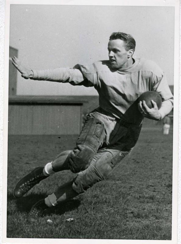 1941 Heisman Trophy winner and Golden Gopher All-American Bruce Smith, available at http://brickhouse.lib.umn.edu/items/show/135