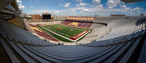 TCF Bank Stadium. Image courtesy of University Relations Photo Library (photo taken July 10, 2009).