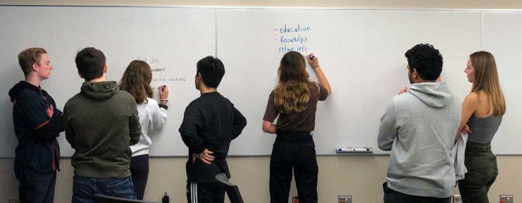 Writing on the White Board