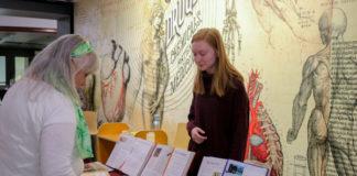 Natalie Buckland shares Harry Potter exhibit.