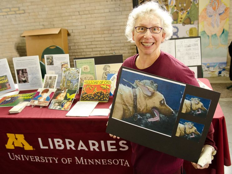 Lisa Von Drasek at the Twin Cities Book Festival