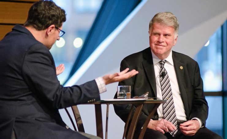 At the Friends of the Libraries Annual Celebration, David S. Ferriero, Archivist of the United States, was interviewed by journalist Tom Weber. Listen to their conversation, Truth, Tweets, and Tomorrows, along with the other 2018–2019 Friends Forum events,on our YouTube channel at z.umn.edu/fol-forum.