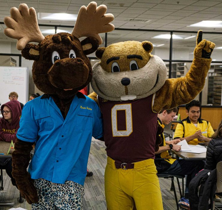 Mooster and Goldy