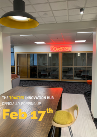 The Toaster Innovation Lab opens Feb. 17