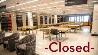 Wilson Library 4th floor study area